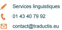 Service de Traduction